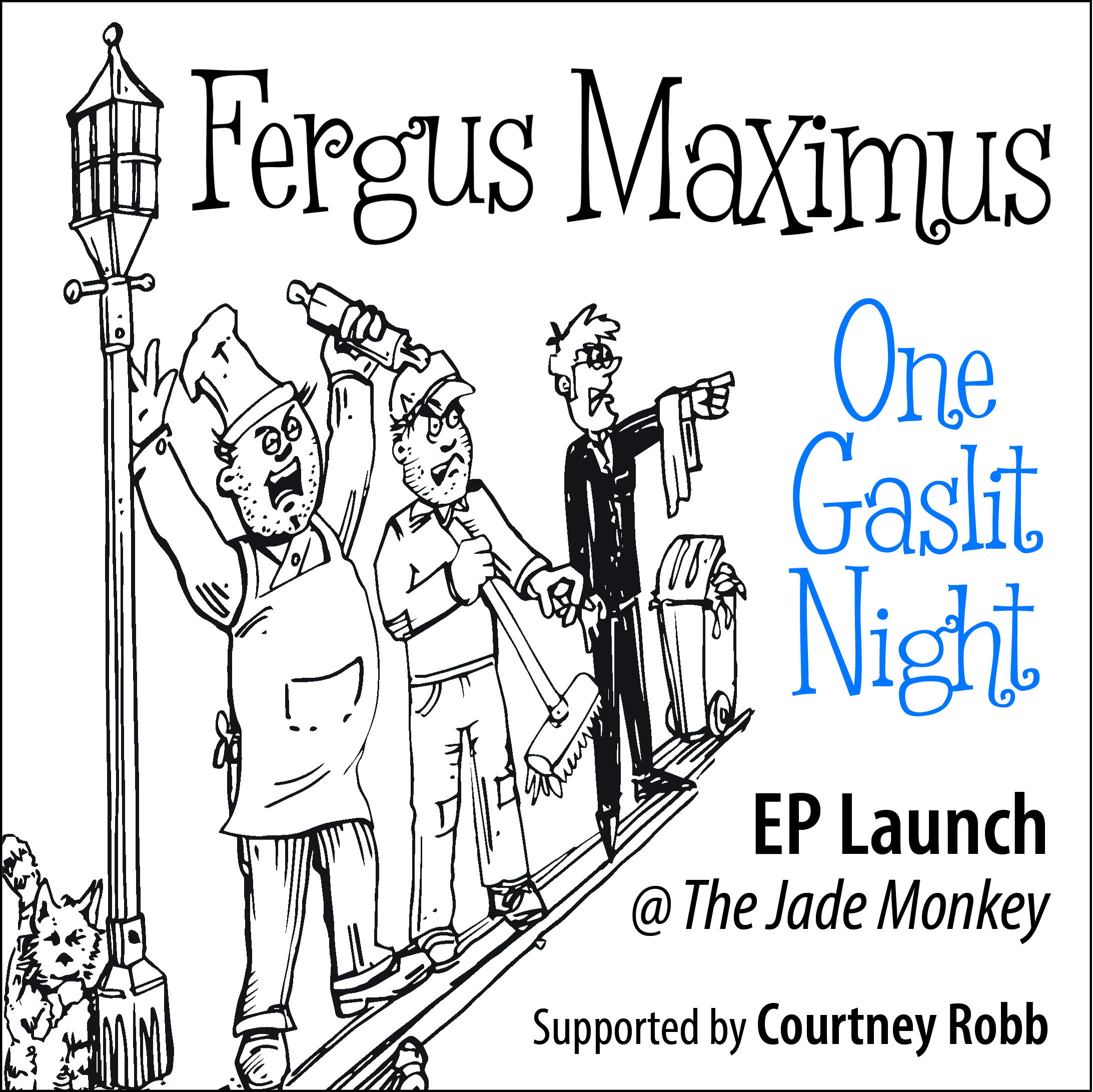One Gaslit Night Promo Square
